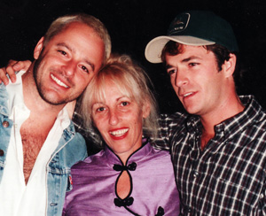 Martha Frankel with Gil Bellows and Luke Perry